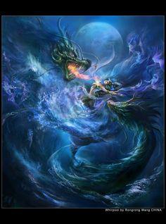 Dragons fantasy art  Exotique 07-Pag 320