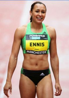 A picture of Jessica Ennis. This site is a community effort to recognize the hard work of female athletes, fitness models, and bodybuilders. Jess Ennis, Jessica Ennis Hill, Fit Women, Sexy Women, Athletic Events, Beautiful Athletes, Athletic Girls, Gym Body, Fitness Motivation Pictures