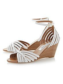 Lexii two part wedge sandals #houseoffraser