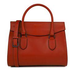 Front Flap Work Handbag - Red - Handbag - Bags   CHARLES & KEITH