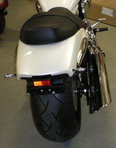 Heckteil für Breitreifenumbau / Suzuki M 1800