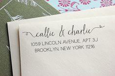 Address Stamp - Self Inking Address Stamp - Engagement Gift - Wedding Gift - Housewarming Gift on Etsy, $33.47 AUD