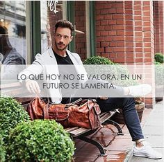 Lo que no se valora, se lamenta.  #hombre #moda #tendencia #frases #saco #traje #mocasines #elegancia #fashion #dinero #poder #chic #gentleman #reloj #hombre #clase #estilo #elegancia #class #men #nice #outfit #inspiration #outfits #casual #wear #menswear #menswear #mensstyle #post #shoes #shoeslover #galleries #people #watches #life #lifestyle #lifequotes #quote #lifelessons #shirt #camisa #jeans #tiendasplatino #platino #cuernavaca #morelos Tiendas Platino