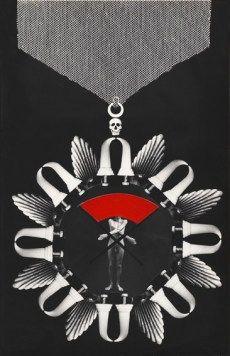 Zofia Kulik Budowniczy (medal) 1989, 50x32cm