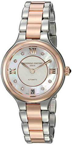 Frederique Constant Women s  Delight  Automatic Stainless Steel Casual  Watch 3adb0a3e61