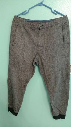 GAP Brand jogger skinny ankle pants (Size L) Grey dress San Francisco 1969    · Pantalones ... bf54d6347ae7a