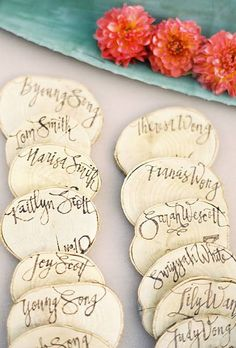 Fresh Escort Card Ideas | Wedding Ideas | Brides.com