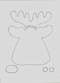 Get Your Crap Together: Reindeer Jammies with Free Applique Pattern