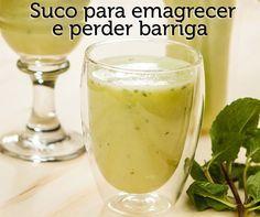 Suco detox: abacaxi, hortelã e linhaça