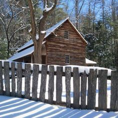 Cade's Cove, Great Smoky Mountains National Park, Gatlinburg, TN (Christmas 2010)