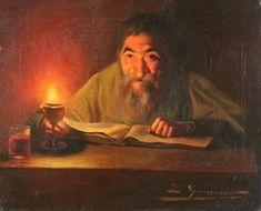 Artwork by Lluís Graner Arrufí, The Reader, Made of oil on canvas