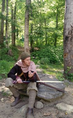 Discussing the merits of the sword with a fellow warrior while encamped. Near Viking-age Heiðabýr (in current-day Schleswig-Holstein, Germany) ; Danish Vikings, Viking Garb, Arm Armor, Fantasy Weapons, Anglo Saxon, Dark Ages, Character Inspiration, Medieval, Arms