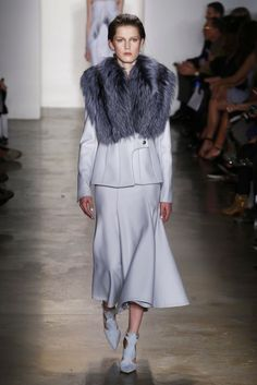 Mr. Simkhai's, the 2015 CFDA/Vogue fashion winner presents his latest fall looks.