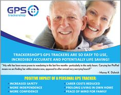 Trackershop.com are quickly becoming the pioneers in Dementia safety trackers. Come and visit our site to learn more :)