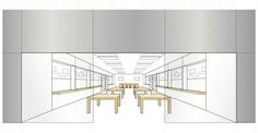 Apple has trademarked the design and layout of its retail stores