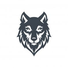 Discover recipes, home ideas, style inspiration and other ideas to try. Lobo Tribal, Fox Tattoo Design, Wolf Face, Game Logo Design, Vintage Typography, Logo Vintage, Tattoo Project, Retro Logos, Stencil Art