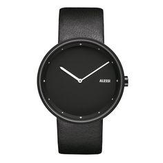 Alessi Armbanduhr Out_Time, schwarz #artvoll #Colors #Black #Schwarz #AllesIn www.artvoll.de