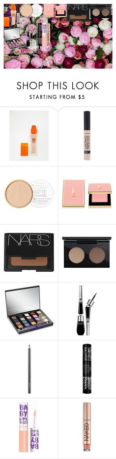 Smoky Valentines Day Makeup Tutorial! by oroartye-1 on Polyvore featuring beauty, Urban Decay, Yves Saint Laurent, NARS Cosmetics, Lancôme, MAC Cosmetics, Max Factor, Rimmel and Maybelline