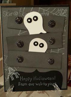 Stampin up! Ghost Dresser card