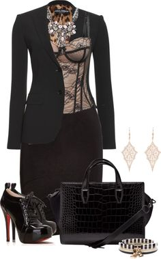 """Untitled #1365"" by lisa-holt on Polyvore"