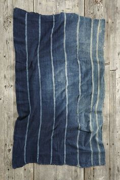 Vintage  Faded Stripe Indigo Tapestry #urbanoutfitters