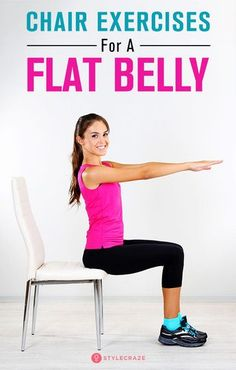 7 Exercises For A Flat Belly That You Can Do Even While Sitting On A Chair : 7 Exercises For A Flat Belly That You Can Do Even While Sitting On A Chair bellyfat fitness health exercise Exercises Flat Belly Health And Fitness Tips, Health Tips, Health And Wellness, Health Exercise, Health And Fitness Magazine, Freeletics Workout, Hormon Yoga, Chair Exercises, Flat Belly Exercises