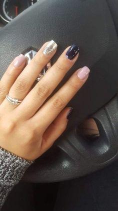 35 Trending Early Spring Nails Art Designs And Colors 2019 - Nailart - Nageldesign Shellac Nails, Toe Nails, Manicures, Gel Nail, Shellac Nail Colors, Shellac Nail Designs, Pedicure Colors, Pedicure Ideas, Winter Nail Designs