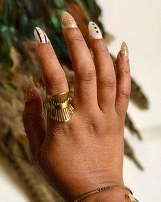 #absyniamanicam: @lenubienne rocks the Armada ring with statement stilleto nails.  In stock: www.absynia.etsy.com  #absynia #happycustomers #proudabsynians #etsydoesit #womensfashion #nails #modernstyle #flashesofdelight #design #jewelry #stylealert #gold