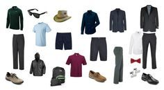 Men's Capsule Wardrobe for a Cruise Vacation ...