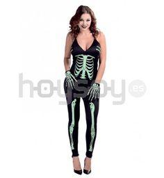 Original #disfraz de #Skeleton fosforescente para disfrutar de tu fiesta de #Halloween #Disfraces