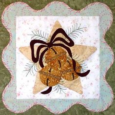 click here to view larger image of Anita's Christmas Quilt  - Block 4 (PATTERNS)