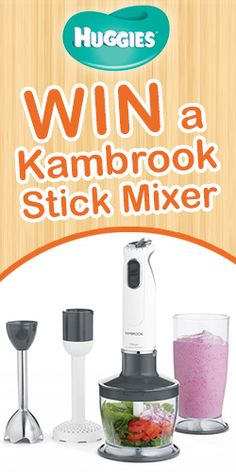 1 of 3 Stick Mixers, Free Samples, Popcorn Maker, Giveaway, Health, Fitness, Health Care, Salud