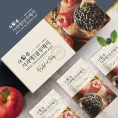 제품/패키지 디자인 포트폴리오 보기 | 라우드소싱 Pouch Packaging, Food Packaging, Brand Packaging, Packaging Design, Branding Design, Logo Design, Visual Communication Design, Blueberry Juice, Fruit Gifts