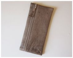 Fine Leather Pencil Case by mzstuttgart on Etsy, $20.00 Made in Chicago.