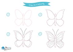 How to Draw Insects Free Tutorial for Kids Bugs Drawing, Drawing Sketches, Sketching, Cute Doodle Art, Cute Doodles, Drawing Tutorials For Kids, Drawing Ideas, Drawing Tips, How To Draw Insects