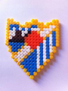Escudo Málaga CF Hama Beads, Friendship Bracelets, Jewelry, Coat Of Arms, Colors, Drawings, Jewellery Making, Hama Bead, Jewelery