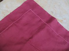 This listing is for a brand new without package Raspberry Pink Tone on Tone Woven Damask European Pillow Sham by Yves Delorme of France. It features a subtle tone on tone damask woven design all in solid raspberry pink. 100% cotton, machine wash for care.