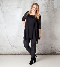 Jurken, Jurk | x-two.com - Grote maten dameskleding