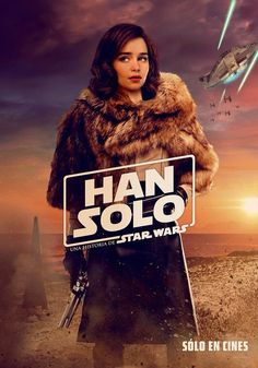 Poster Variant for Solo: A Star Wars Story with Emilia Clarke as Qi'Ra featured on it. Poster S, Star Wars Poster, Star Wars Art, Poster Ideas, Donald Glover, Lego Star Wars Clone, Chewbacca, Star Wars Jokes, Cinema