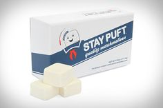 Stay Puft Marshmallows (Ghostbusters) Although we only get to see the product itself very briefly in Dana's apartment Stay Puft Marshmallows earns its spot at the top of the list by being the most recognisable fictional product there is. Like the real world this isn't due to the quality of its product more due to the appeal of the character that promotes it: Marshmallow Sailor Mascot (and Michelin Man doppelgänger) the Stay Puft Marshmallow Man. You'll be unsurprised to know that you too can…