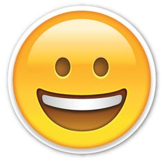 Grinning Face | EmojiStickers.com