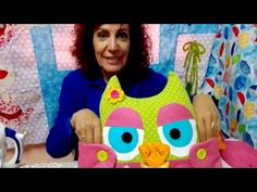 LA GALLINA COSE COSE PRESENTA 2ª PARTE DE LA MAMA BUHO - YouTube Coin Couture, Sewing Patterns Free, Free Pattern, Fun Crafts, Projects To Try, Patches, Toys, Gifts, Fabric Owls