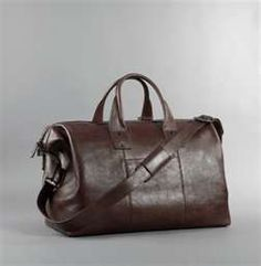 Kenneth Cole Roma Leather Satchel Duffel Bag | Essential Style for Men