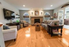 Large and expansive living room