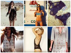 O crochê no verão brasileiro já pode ser considerado um clássico – biquínis, saídas de praia, blusinhas, saias e vestidos curtos de crochet são super charmosos e fazem o maior sucesso, independente...