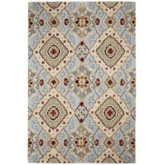Diamond Scroll Rugs |  Review: I LOVED this rug until my Dane chewed it up. :( Will purchase again.