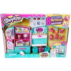 Toy Store For All Your Toy Needs Shopkins Metallic Fridge Toy Sto. Toy Store For All Your Toy Needs Shopkins Metallic Fridge Toy Store For All Your Toy Shopkins Playsets, Shopkins Game, Shopkins Season 3, Shopkins Store, Shopkins Figures, Plastic Canvas Tissue Boxes, Plastic Canvas Patterns, Christmas List 2015, Christmas Gifts