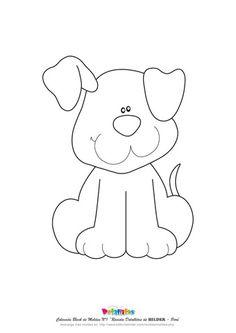 32 Ideas Patchwork Molde Cachorro For 2019 Applique Templates, Applique Patterns, Applique Quilts, Applique Designs, Embroidery Applique, Quilt Patterns, Embroidery Designs, Dog Template, Owl Templates