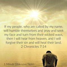 God~ If people call my name they will be humble