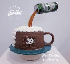 Creme Mascarpone, Happy Birthday, Birthday Cake, Mugs, Tableware, Desserts, Food, Game Of Thrones Cake, Caramel Color